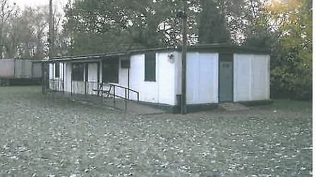 The existing pavilion.