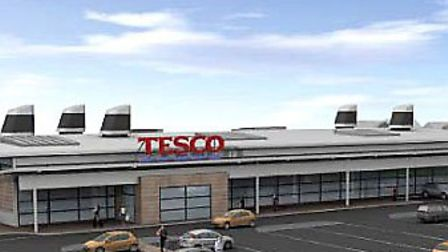 Proposed Tesco store for Benwick Road, Whittlesey
