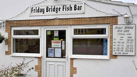 Friday Bridge Fish Bar voted best chips in Cambridgeshire. Picture: Steve Williams.