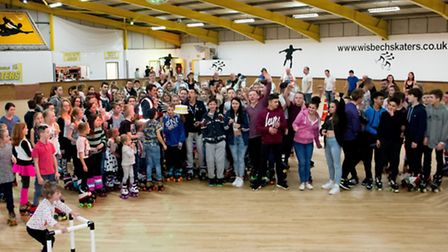 Skaters celebrates its first birthday since re-opening