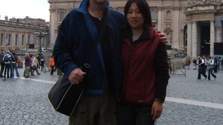 Frank Dutton and Jade Gao.