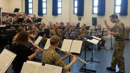 Dunmow Wind Band spent a day with The Band of The Parachute Regiment.