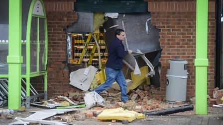 The ATM was stolen at the Co-op in Terrington St Clements at 2.30 on Wednesday morning. Picture: Mat