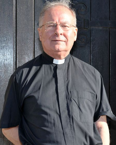 Father James Fyfe. New Priest of Our Lady & St Charles Borrome Catholic Church Wisbech. Picture: Ste