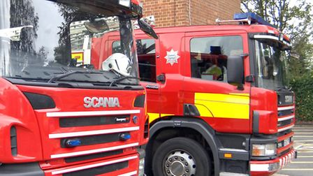 Firefighters were called to the blaze on the High Street, Saffron Walden.