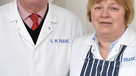 G.W.Frank in Wisbech closing after 107 years of trading. Left: David and Christine Williams. Picture