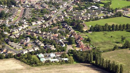 Aerial view of Kingswood Park Care Home.
