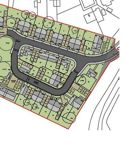 The plan for the Kingswood development