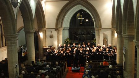Ely Consort concert performing last year at Soham church.