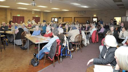Dial-a-Ride AGM, Witchford. Picture: Steve Williams.