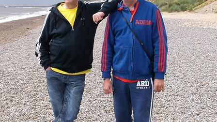 Foster carers Martin and Lee Shaw