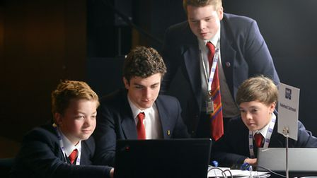 Felsted School pupils have made it to the final of a business competition backed by Coca Cola.