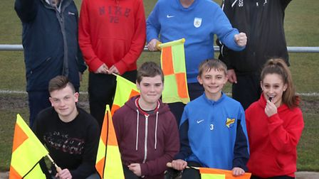 Wisbech Town was the host venue for a half term Football Association referee course.