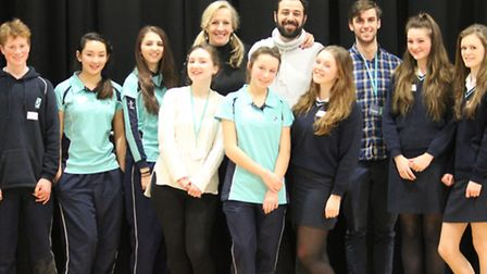 King's Ely pupils auditioned for the National Youth Theatre Trust