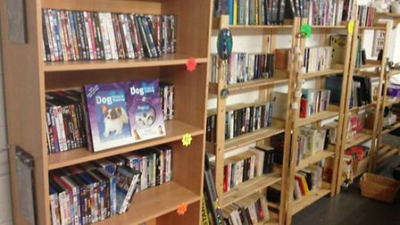 Plenty of books to choose from at the new Ravenswood Pet Rescue shop