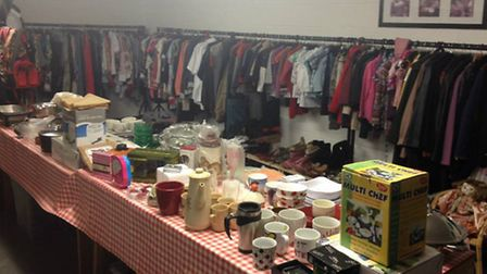 Plenty of pre-loved clothes to choose from at the new Ravenswood Pet Rescue shop