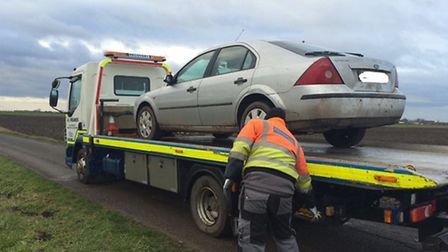 Vehicle confiscated after hare coursing in March
