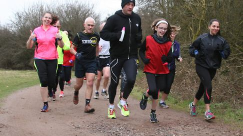 Inaugural parkrun event held at Hatfield Forest