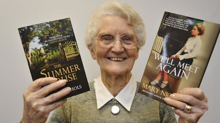 Ely Library Writers Day, Author Mary Nicol, from Ely,