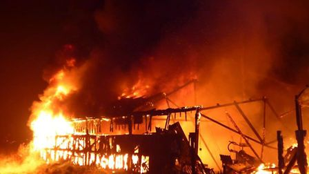 Wisbech store shed fire, North Brink
