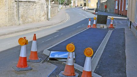 Traffic Calming in Church street, Whittlesey.