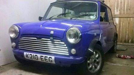 Mini stolen from thhe driveway of a March home