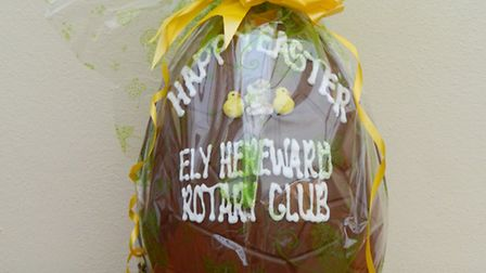 Get your hands on a giant Easter egg courtesy of the Rotary club