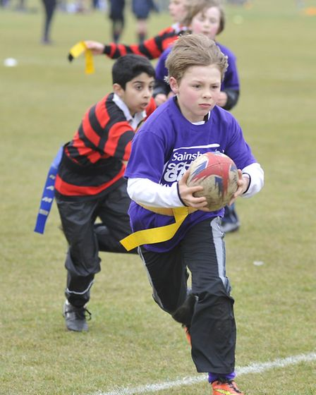 Sainsburys Schools Games, at St Ivo Outdoor Centre, Harvey, from Little Thetford Primary School, pla