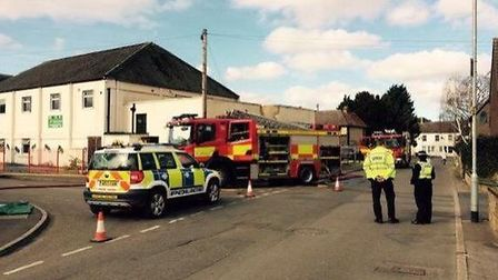 An investigation revealed the fire was started deliberately.