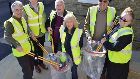 Councillor Lis Every will be leading the clean up.