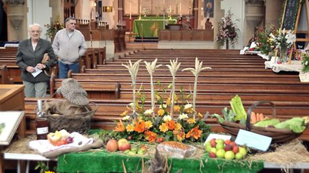 Flower Festival, St Peter's Church in March
