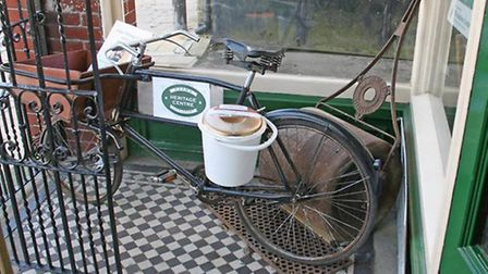 The vintage bicycle was stolen from outside JH Adams, in Littleport.