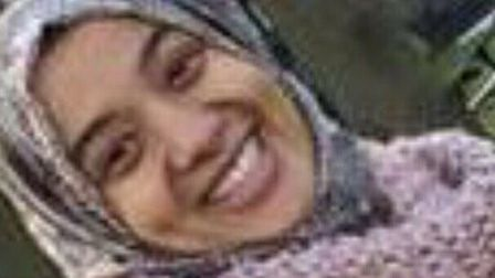 The smiling selfie that Lena Mamoun Abdel-gadir sent to her sister before she entered Syria.