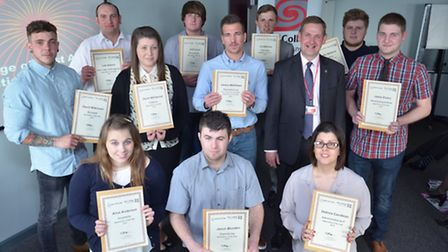 College of West Anglia apprentices success