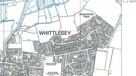 Whittlesey Showfield site map