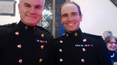 Band of The Queen's Division at St. Peter and St. Paul Chatteris: Conductors: Captain Jon Milne and