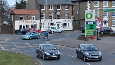 Freedom Bridge Roundabout, Wisbech. Picture: Steve Williams.