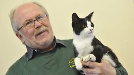 Cats Protection League annual show, at Little Downham Village Hall, Mick Knight, from March, with hi