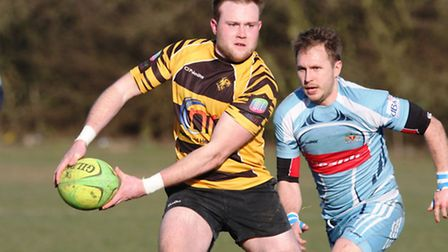 Action from Ely Tigers' match against Mersea.Picture: www.swphoto.co.uk
