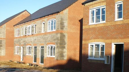 New homes under way in Gaul Road, March, for Sanctuary Housing