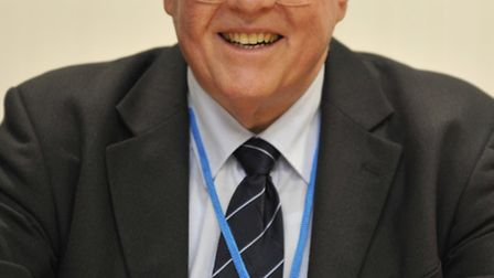 New Police Commisioner Sir Graham Bright, at South Cambs District Council offices, Cambourne