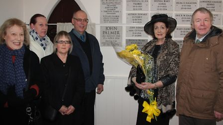 John Palmer plaque is unveiled