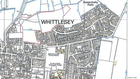 Showfield at Whittlesey site map