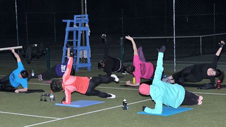 Spring into Summer Boot Camp.Picture: Steve Williams.