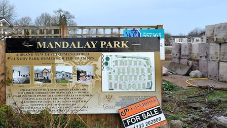Mandalay Park, Luxury Park Homes, Whittlesey, Picture: Steve Williams.