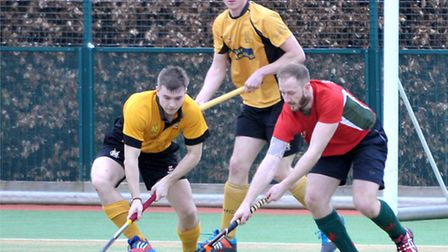 March hockey men v Norwich dragons. Picture: Steve Williams