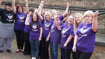 Staff at the Hermitage are fundraising for London Elizabeth.
