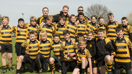 Ely Tigers under 12s.Picture: Oliver Johnson
