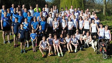 Fenland Running Club and March AC were out in force in King's Lynn
