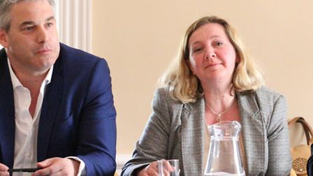 Hustings meeting with Steve Barclay and Lucy Nethsingha